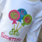 Applique Lollipops T