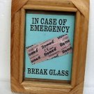 Condom Gift-IN CASE OF EMERGENCY BREAK GLASS- Sex Lover Gift,Gift for Him