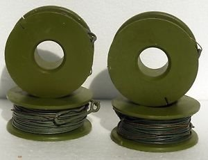 YUGOSLAVIA SERBIA JNA ARMY -PLASTIC COATED STEEL WIRE ROPE-20 m four pieces !