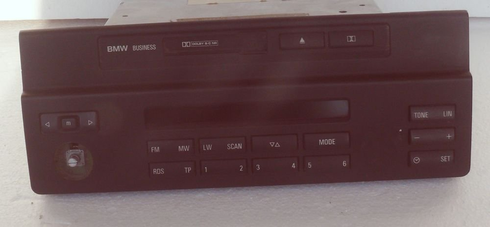 BMW E39 5 Series - Becker C53 Business Radio Cassette Player