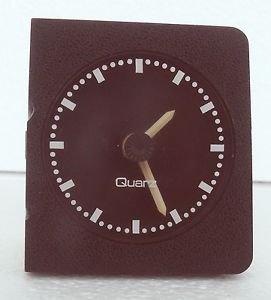 Vintage German Auto Clock  VDO OPEL ASCONA  Oldtimer DASH BOARD CLOCK