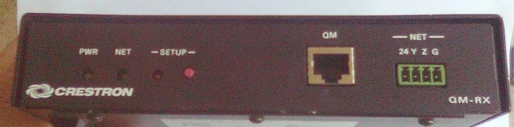 Crestron QM-RX Quickmedia receiver for Composite, S-Video, RGB Video Signals