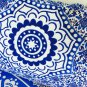 New Indian Blue Ombre Mandala Hippie Bohemian Double 2 Pillow Cover Wall Hanging