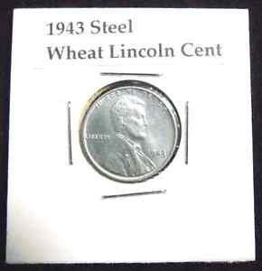 1943 Steel Wheat Penny