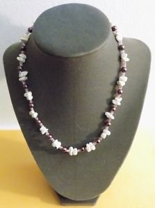 Purple Necklace 17 Inch
