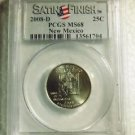 2008-D NEW MEXICO QUARTER PCGS MS68 SATIN FINSH