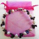 Freshwater Pink Pearl Bracelet 8.5 Inch