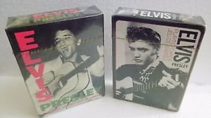 Collectible Elvis Presley Playing Cards 2 Sets