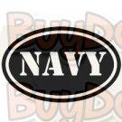 Navy Oval