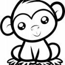 Cute Monkey 1