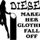 Diesel Makes Her Clothes Fall Off
