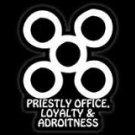 "PRIESTLY OFFICE, LOYALTY, & ADROITNESS (4""X 6"")"