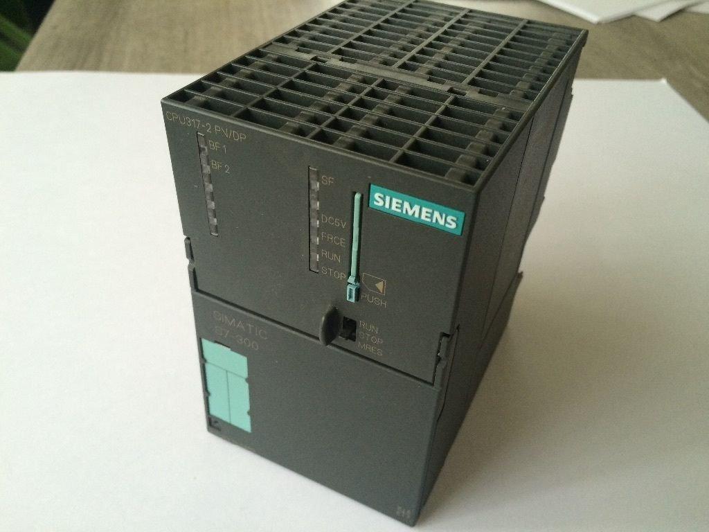 siemens simatic s7 300 plc 317 2ek13 cpu 512 kb micro. Black Bedroom Furniture Sets. Home Design Ideas