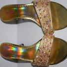 Seventeen sz 8M Open Toe Clear Heels