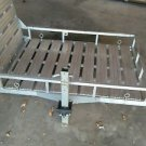Aluminum Cargo Carrier with Ramp 500lb capacity