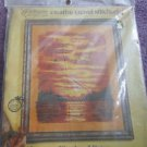 "VTG Paragon Needlecraft Creative Crewel Stitchery ""Sundown"""