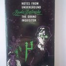 Notes from Underground and The Grand Inquisitor