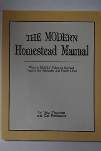 The Modern Homestead Manual