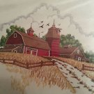 "NEW Sunset Stitchery ""Country Barn"" Embroidery Kit"