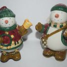 Debbie Mumm Snow Angel Village Sugar/Creamer Set VGUC