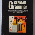 German Grammar by Eric V. Greenfield (1971, Paperback)