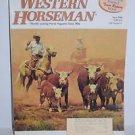 Western Horseman April 1996 Bill Owen Cover