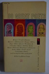 50 Great Poets, 1961 Bantam PB
