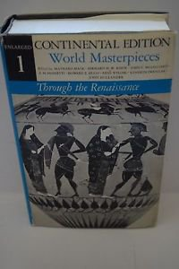 Continental Edition of World Masterpieces Enlarged V#1 to Renaissance HC (1966)