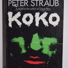 Koko by Peter Straub 1989 VTG Papaerback