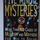 Five Minute Mysteries Ken Weber Great Book
