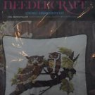Avon Creative Needle Craft Owl Mates Pillow Crewel Embroidery Kit