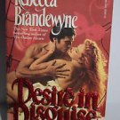 Desire in Disguise by Rebecca Brandewyne (1987, Paperback)