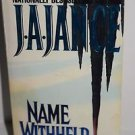 Name Withheld: A J.P. Beaumont Mystery 1997 PB