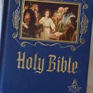 Masonic Heirloom Holy Bible 1971, Master Reference Edition Illustrated GC