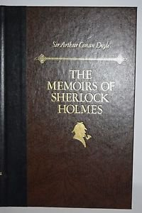 The Memoirs of Sherlock Holmes Doyle Readers Digest Hardcover Book +Insert