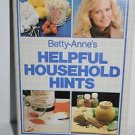 Betty-Anne's Helpful Household Hints, English, Paperback