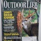 Outdoor Life 9/2001 Deer Guide Magazine