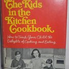 The Kids in the Kitchen Cookbook by Lois Levine 1968 HC/DJ