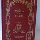 A World Of Great Stories By Haydn And Cournos Leather Bound 115 Stories HTF