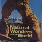 Natural Wonders of the World Readers Digest Large Colorful Table Top Book1980 HC