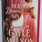 Her Dearest Sin By Gayle Wilson 2002 Paperback