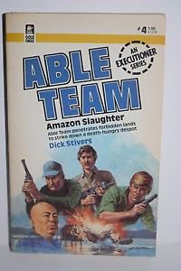 Amazon Slaughter (Able Team #4) Dick Stivers Paperback