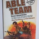 Able Team #3 Texas Showdown by Dick Stivers 1982 Paperback