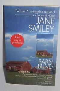Barn Blind: A Novel by Jane Smiley 1993 Paperback