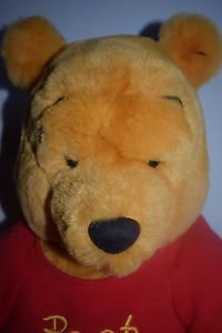 "Winnie The Pooh 21"" Plush Stuffed Animal GUC"