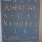 The Best American Short Stories 1992 Paperback Book