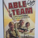 Able Team #5 Cairo Countdown by Dick Stivers (1983, Paperback)