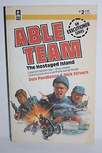 Paperback. Stivers: Able Team 2: The Hostaged Island Pendelton Stivers
