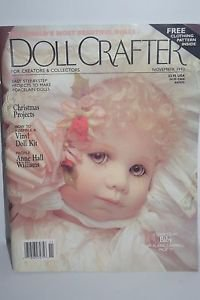 """Doll Crafter Magazing November 1993 Pattern Included for 18"""" Doll"""