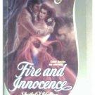 FIRE AND INNOCENCE - SHEILA O'HALLION - 1984